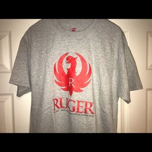 Ruger tee  t shirt L 10/22 Anniversary Large